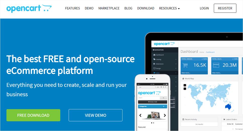 Opencart eCommerce Platform