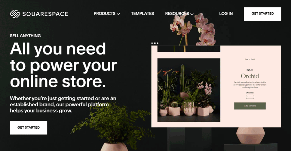 Sqaurespace eCommerce Platform