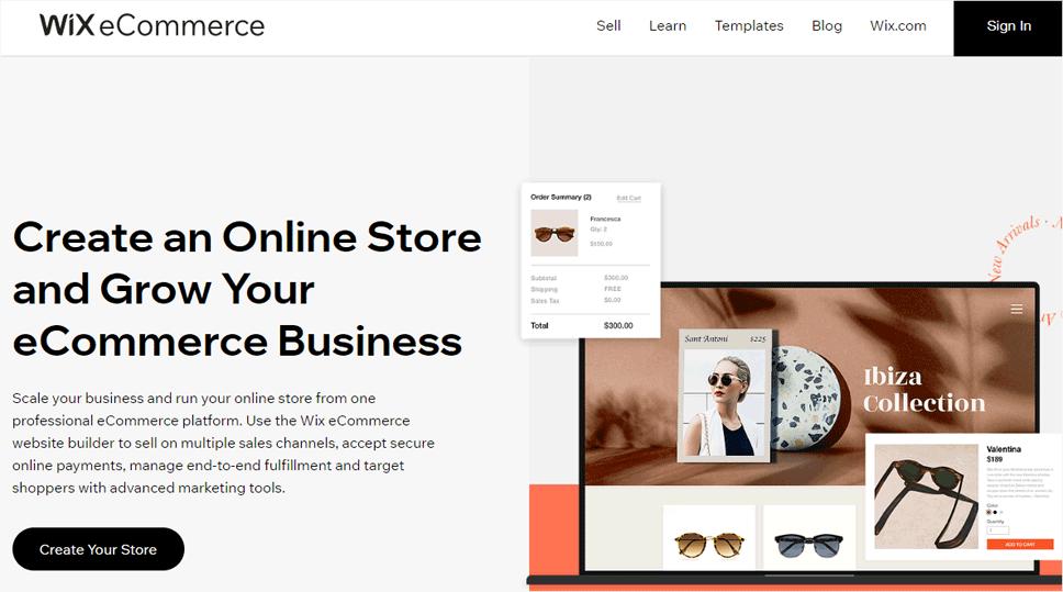Wix eCommerce Platform
