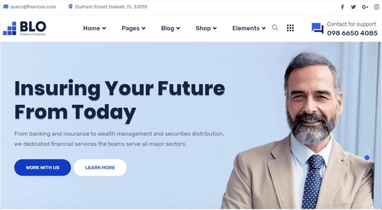 BLO WordPress Business Theme