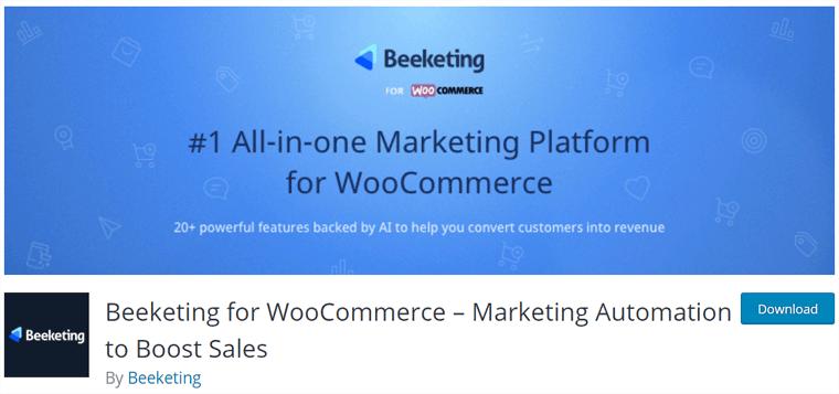 WooCommerce Beeketing Plugin
