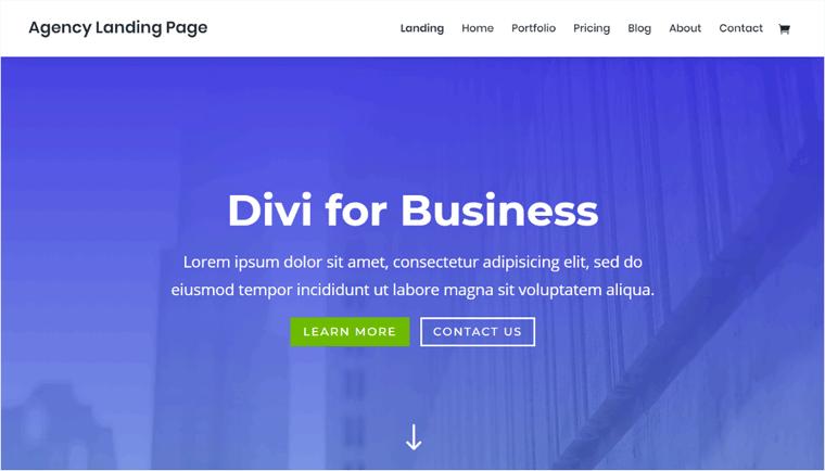 Divi WordPress Business Theme