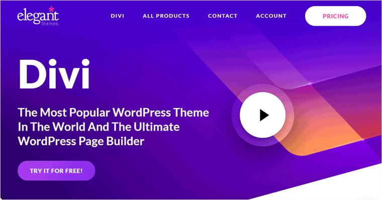 Premium WordPress Themes from Divi