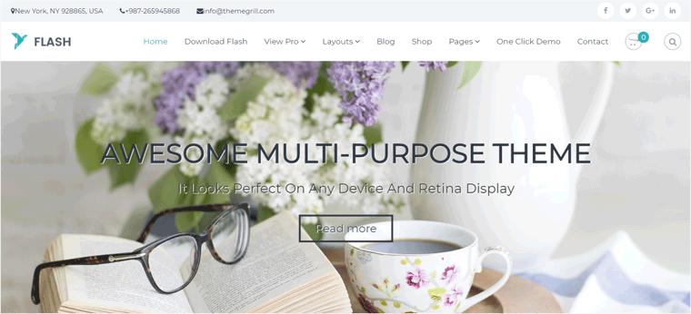 Flash WordPress Business Theme