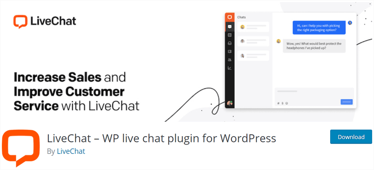 LiveChat Plugin for WooCommerce