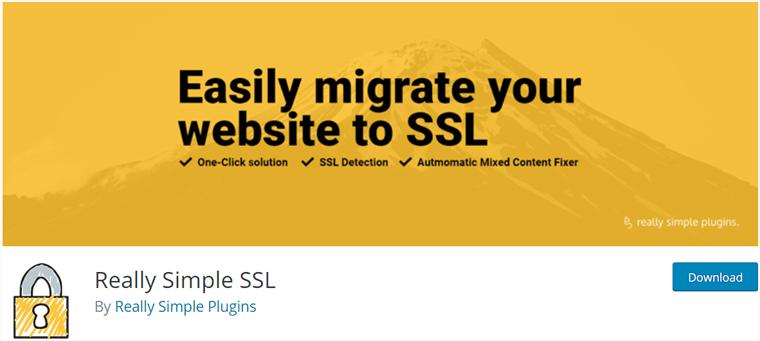 Really Simple SSL WordPress Free Plugin