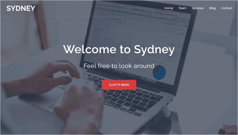 Sydney WordPress Business Theme