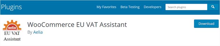 WooCommerce EU VAT Assistant Plugins
