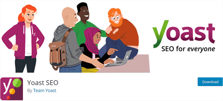 Yoast SEO Free WordPress SEO Plugins