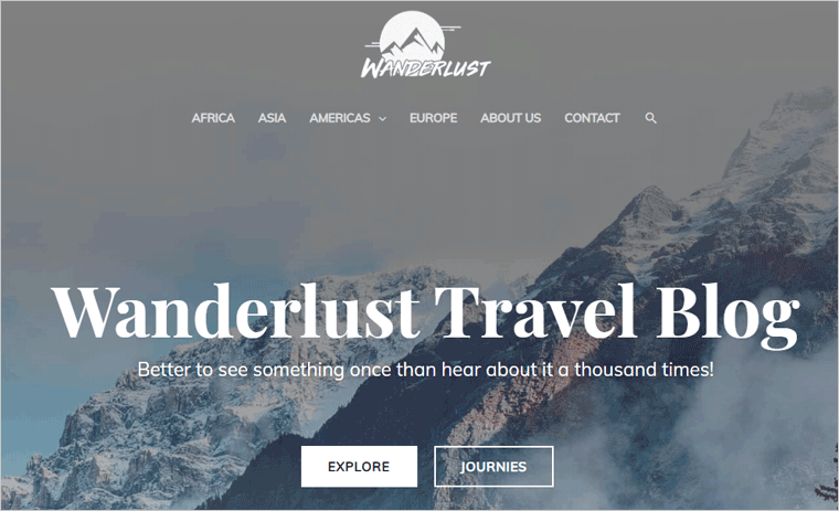Astra WordPress Blog Theme