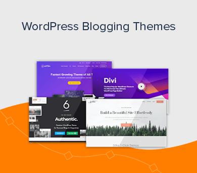 Best WordPress Blogging Themes Featured