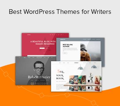Best WordPress Writer & Author Themes