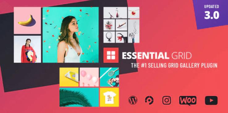 Essential Grid WordPress Premium Plugin