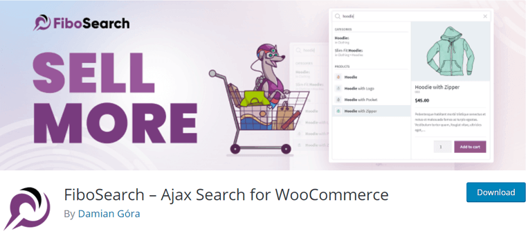 FiboSearch - Ajax Search for WooCommerce