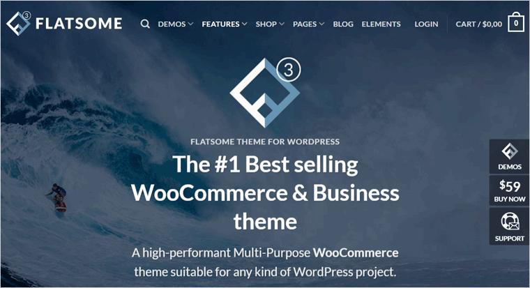 Flatsome Premium WordPress Template