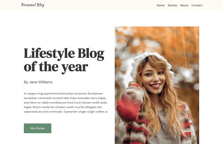 Neve Theme Blog Demo