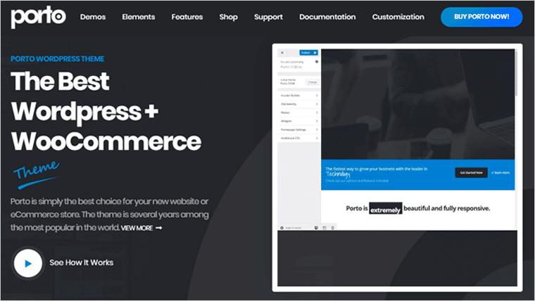 Porto Premium WordPress Theme