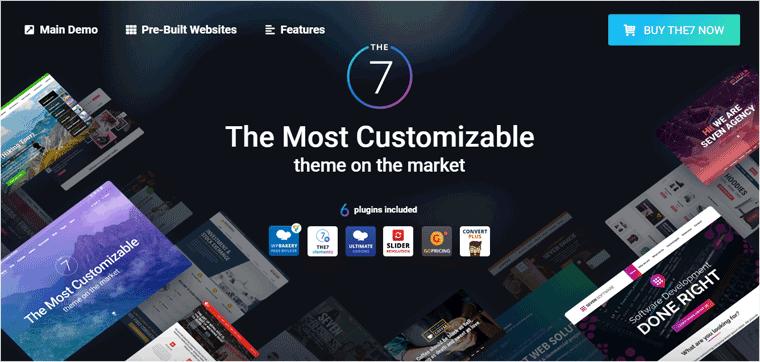 The7 WordPress Template