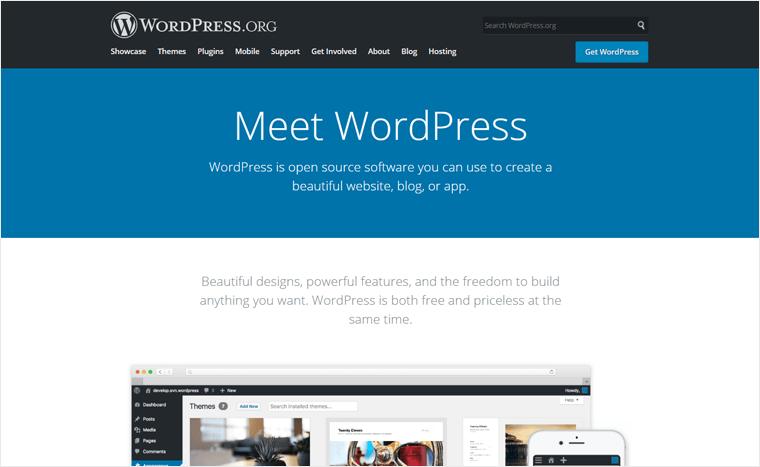 WordPress.org Website