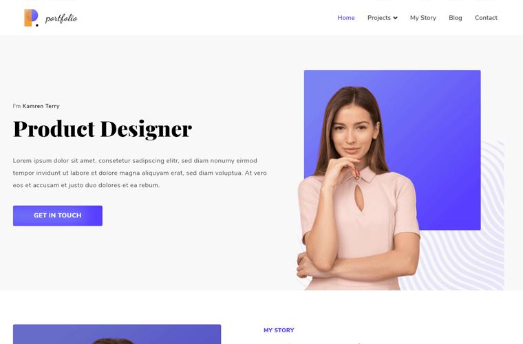 Zakra Portfolio Theme for WordPress