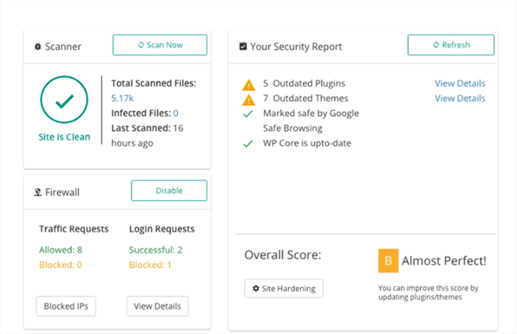 MalCare Website Security Checker