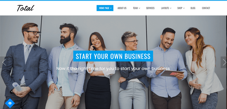 Total Business Theme for WordPress