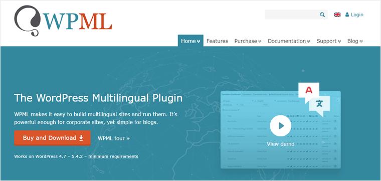 WPML WordPress Multilingual WordPress Plugin