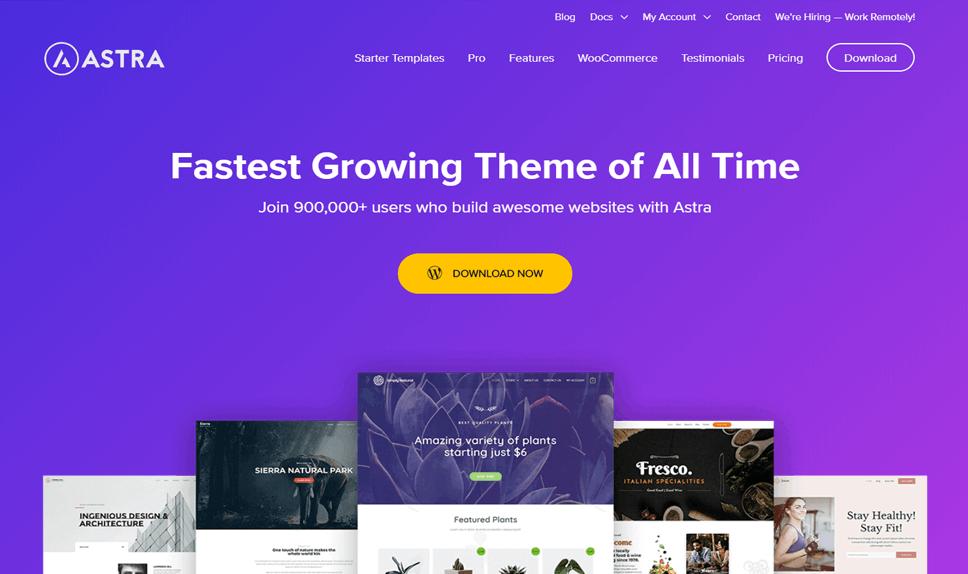 Astra Free Responsive WordPress Theme