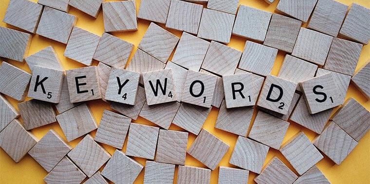 Keywords in Search Engine Marketing