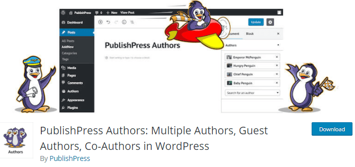 WordPress Plugin for Blogs - PublishPress Authors