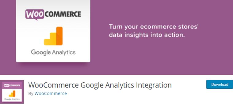 WooCommerce Google Analytics Integration Plugin
