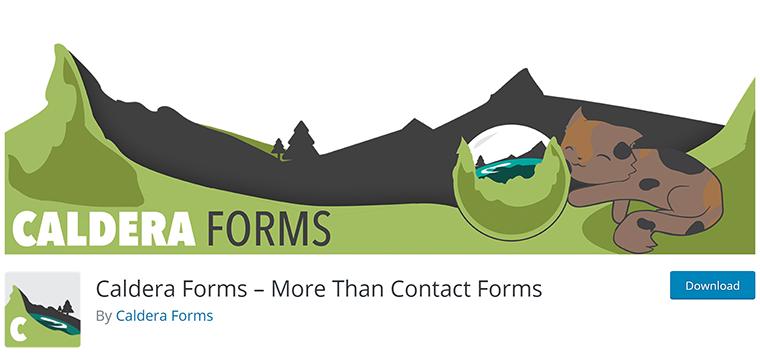 Caldera Forms Plugin for Contact Forms & More