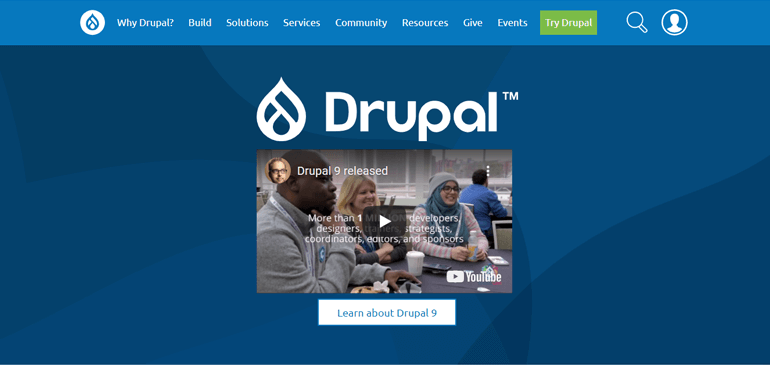 Drupal CMS Platform