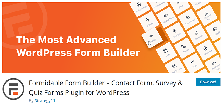 Formidable Forms - Advanced Form Builder