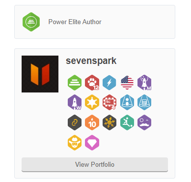 sevenspark Plugin Author Portfolio at CodeCanyon