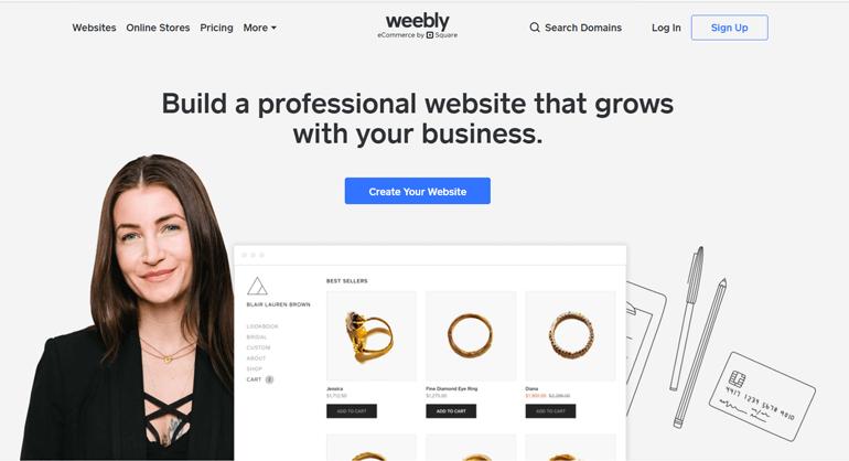 Weebly Simple Website Builder Platform