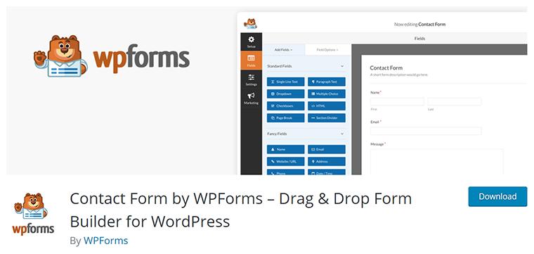 WPForms - Best WordPress Form Plugin