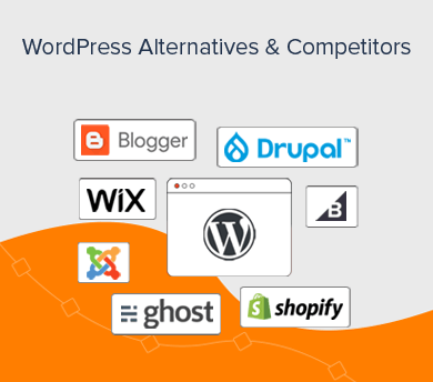 WordPress Competitors and Alternatives