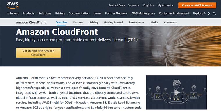 Amazon CloudFront CDN Service