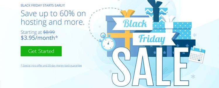 Bluehost Web Hosting Black Friday 2020