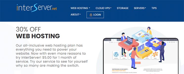 InterServer Web Hosting Service