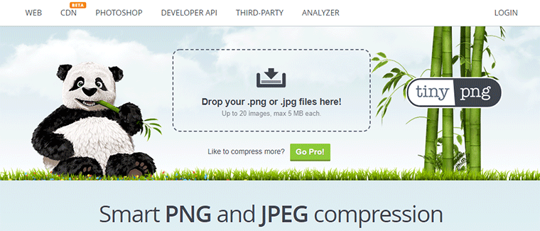 TinyPNG Online Image Compression Tool For Reducing Image Size