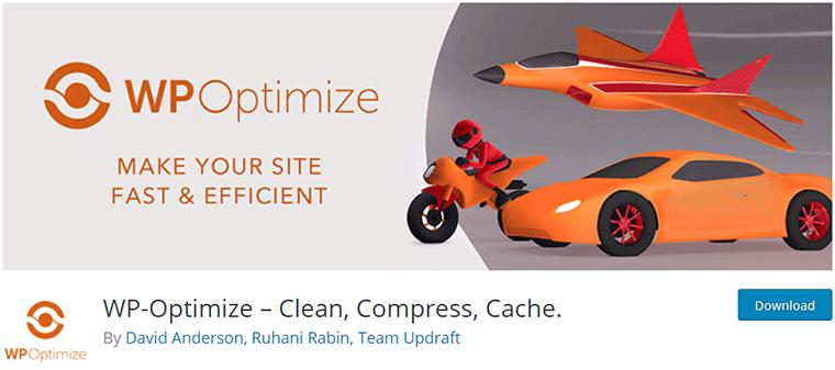 WP-Optimize WordPress Speed Optimization Plugin