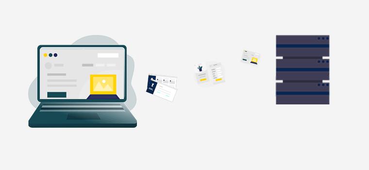 Web Hosting Service for Storing your Website files on a Web Server