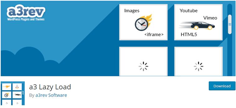 a3 Lazy Load WordPress Speed Optimization Plugin
