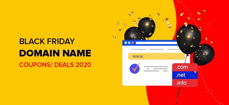 Black Friday Domain Name Deals 2020