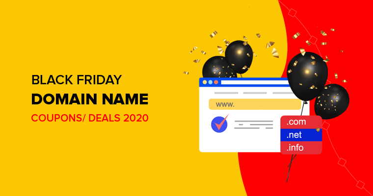 Black Friday Domain Name Deals 2020