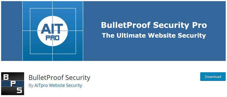 BulletProof Security on WordPress.org