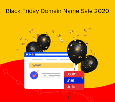 Domain Name Black Friday Sale 2020