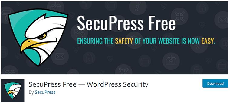 SecuPress on WordPress.org